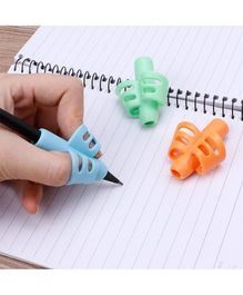 Syga Two Finger Pencil Grips Pack of 3 - Mutlicolor