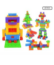 Syga Building Blocks 260 Pieces - Multicolor