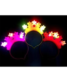 Syga LED Crown Shape Hair Band Pack of 3 (Colour May Vary)