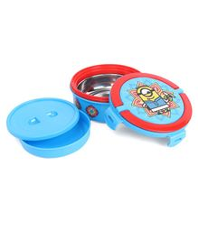 Minions Insulated Lunch Box - Blue Red