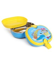 Minions Insulated Lunch Box Minions Getaway Print - Yellow Blue