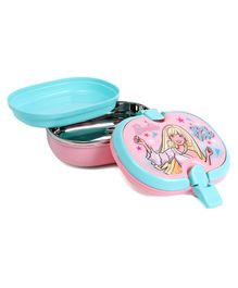 Barbie Insulated Lunch Box Shine Bright Print - Pink Blue