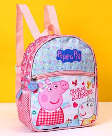 Peppa Pig School Bag Pink - Height 9 inches