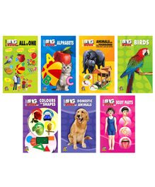 Tricolor Books Collection of My First Big Book: All In One Set of 7 - English