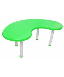 Ehomekart Moon Shaped Table - Green