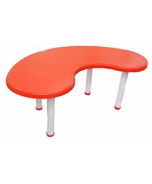 Ehomekart Moon Shaped Table - Orange