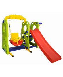 Ehomekart Happy Garden Slide and Swing Combo - Multicolour