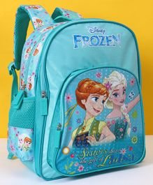 Disney Frozen School Bag Sea Green - 14 Inches