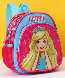 Barbie School Bag Pink - Height 10 inches