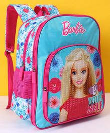 Barbie School Bag Pink - 14 Inches