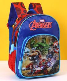 Marvel Avengers School Bag Blue Red - 12 Inches