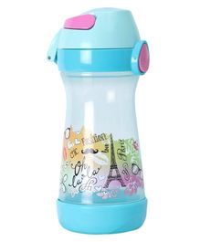 Maped Water Bottle Paris Print Blue - 430ml