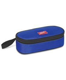 Milton Steal Meal Small 2 Container Steel Tiffin With Carry Pouch - Blue
