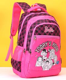 Barbie School Bag Pink - Height 18.8 inches