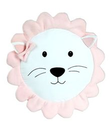My Gift Booth Sun Face Cushion -  Light Pink