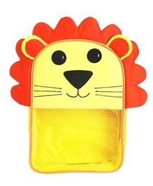 My Gift Booth Lion Design Multiutility Travel Bag - Yellow