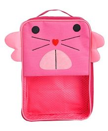 My Gift Booth Cat Design Multiutility Travel Bag - Pink