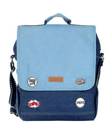 My gift Booth Backpack Style Diaper Bag - Blue