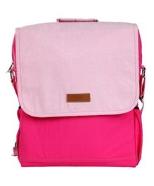 My Gift Booth Backpack Style Diaper Bag - Pink