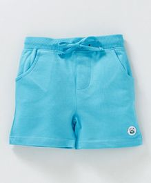 Solittle Solid Shorts - Sky Blue