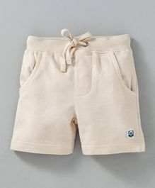Solittle Solid Shorts - Beige