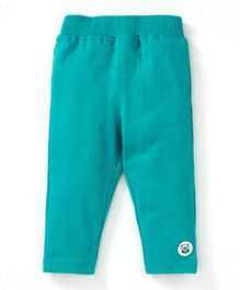Solittle Solid Full Length Pants - Sea Green