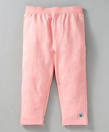 Solittle Solid Full Length Pants - Light Pink