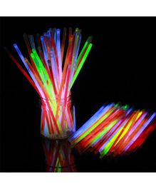 Party Propz Glow Sticks Multicolor - Pack of 100