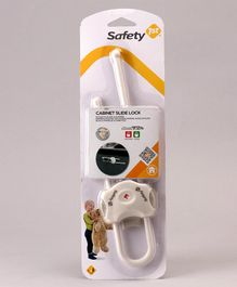 Safety 1st Cabinet Slide Lock - White