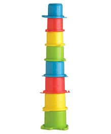 Playgro Crocodile Stacking Cups Multicolour - 8 Pieces