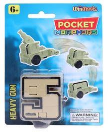 Pocket Morphers Heavy Crew Toy - Beige