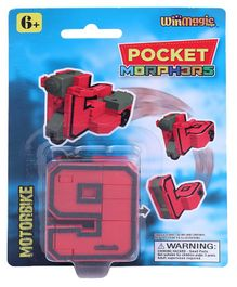 Pocket Morphers Motorbike Toy - Red