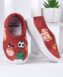 Angry Bird Canvas Shoes - Red