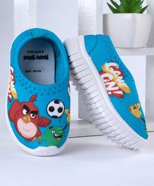 Angry Bird Canvas Shoes - Sky Blue