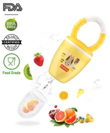 Babyhug Fruit And Food Nibbler - Yellow