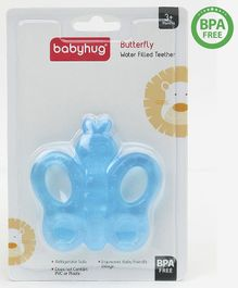Babyhug Water Filled  Butterfly Shaped Teether - Blue