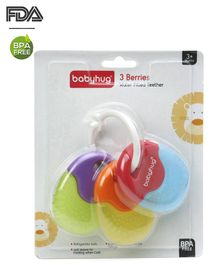 Babyhug Berries Water Filled Teether - Multicolour