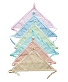 My NewBorn Cloth Nappies Set of 6 - Multicolour