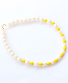 Pihoo Pearl Detailed Necklace - Yellow