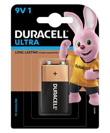 Duracell Ultra Alkaline 9 V Batteries - Pack Of 1