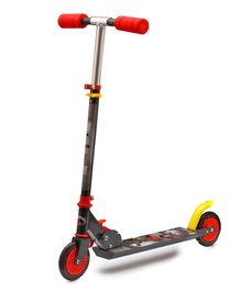 Flyers Bay  Mighty Battle Scooter - Red Grey