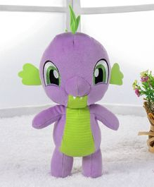 My Little Pony Spike Soft Toy Purple - Height 22.5 cm