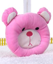 Play Toons Teddy Face Pillow - Pink