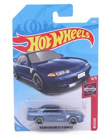 Hot Wheels Diecast Nissan Toy Car (Styles And Color May Vary)