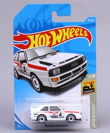 Hot Wheels Baja Blazers Audi Sports Quattro Toy Car (Color & Styles May Vary)