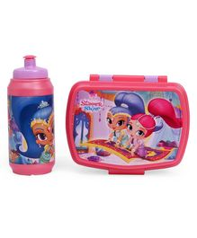 Shimmer & Shine Lunch Box And Water Bottle Set - Pink