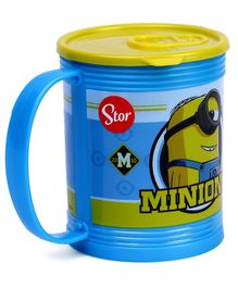 Minions Mug With Lid Blue - 430 ml