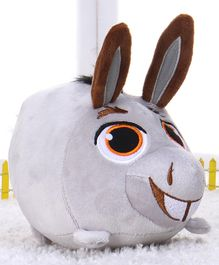 Dreamworks Donkey Shrek Plush Soft Toy Grey - 17 cm