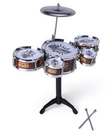 Drum Set - Brown Black