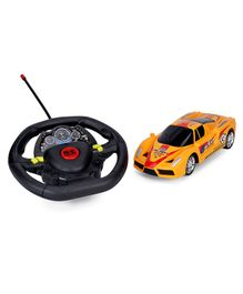 RC Racing Car Toy Super Edition - Yellow